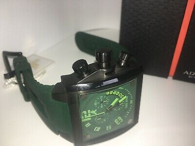Used, ADEE KAYE MENS WATCH green DIAL green  BAND  AK7115-M - new for sale  Shipping to South Africa