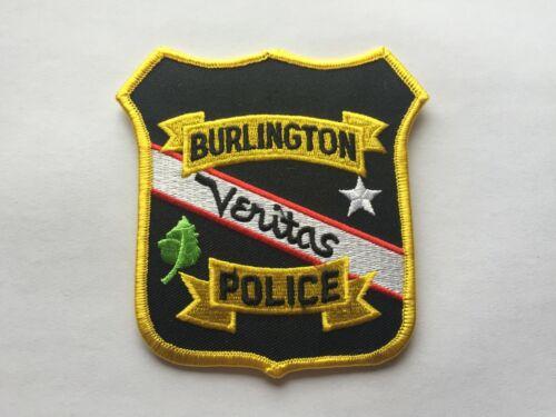 Burlington WISCONSIN Police Patch