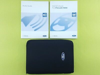 FORD FOCUS C-MAX (2003 - 2007) Owners Manual / Handbook + Audio Guide + Wallet