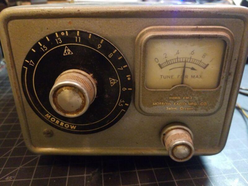 Morrow CM-1 Conelrad Monitor Radio Receiver