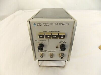 Hp Hewlett Packard 8406a Frequency Comb Generator