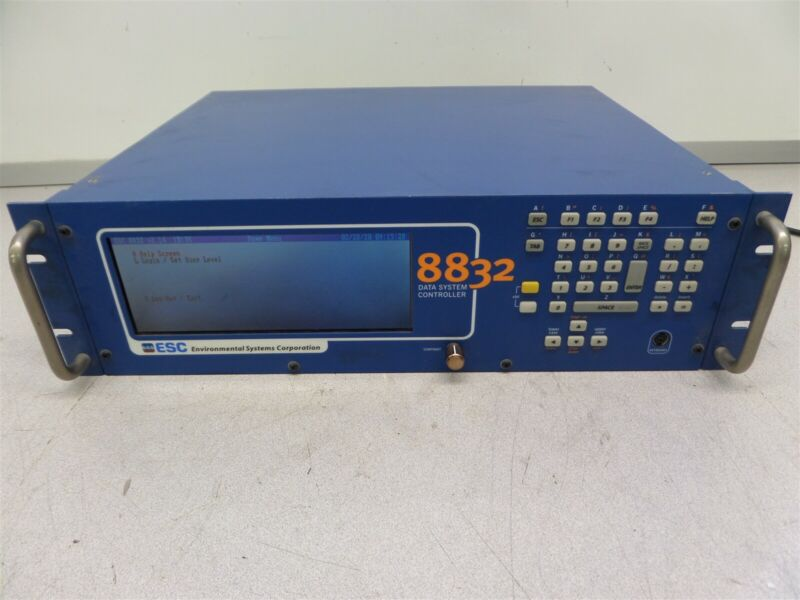 ESC Environmental System Corporation 8832 Data System Controller