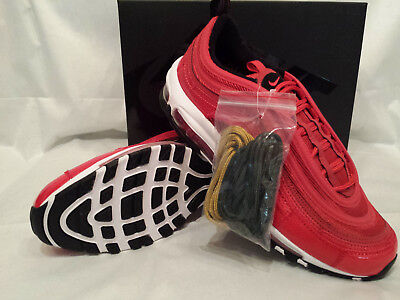 16f7bc0044f8ab Nike Air Max 97 CR7 Portugal Patchwork University Red Metallic Gold Gr. 44  NEU
