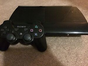 500GB PS3 SUPER SLIM+GAMES+CONTROLLER LIKE NEW!!!