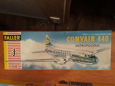 Faller 1:100 / HO  Convair 440  Metr. Lufthansa   Baujahr: Mitte der 60erJahre