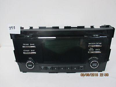 2013 Nissan Altima Premium CD Radio 25185-3TA0B/D ()