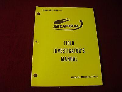 Mufon ~ UFO Field Investigator's Manual ~ 2nd. Ed. ~ 1975 ~ by Raymond E. Fowler