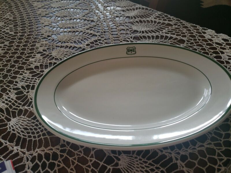 """THE  FOREST SERVICE DISHWARE . COORS CHINA CO. USA.FOR THE 12""""  PLATTER LISTING."""