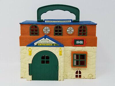 Thomas The Train Sodor Steamworks Car Wash Station Carry Take & Play Set 2003