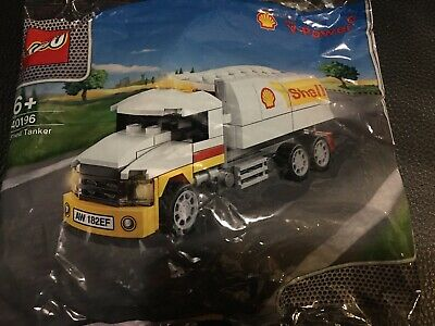 2014 The New Shell V-power Lego Collection Shell Tanker 40196 Limited Edition