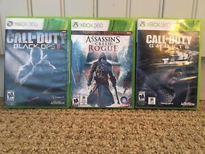 3 brand new Xbox 360 games