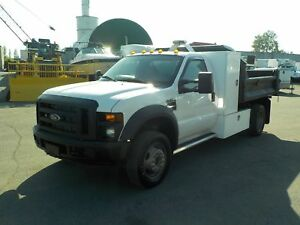 2008 Ford F-450 SD Regular Cab 2WD Dually 8 Foot Dump Box