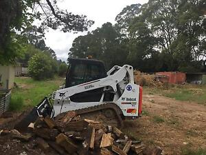 Hire posi track bobcat or 5.5 tonne excavator Dural Hornsby Area Preview