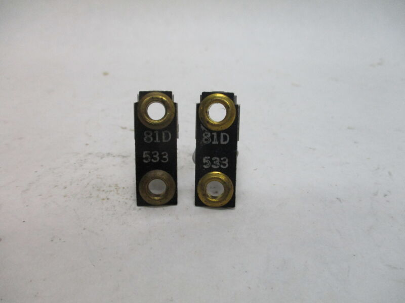 81D533 Thermal Overload Relay Unit 81D 533 (Lot of 2)