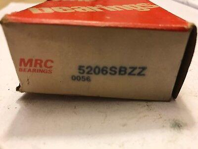 Mrc Double Row Angular Contact Bearing 5206sbzz