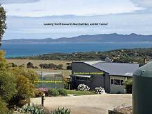 Million dollar views - reduced by 50%!   House, garage etc free! Flinders Island Preview