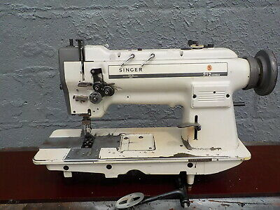 Industrial Sewing Machine Singer 212-539 Walking Foot Two Needle -leather