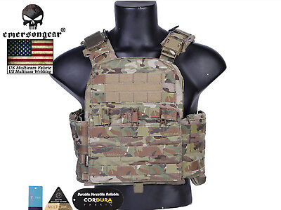 1:6 scale gear Woodland camouflage SPEAR Body Armor with groin protector