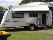 Joyco Destiny 17ft6 2006 Model Poptop Caravan Scarness Fraser Coast Preview