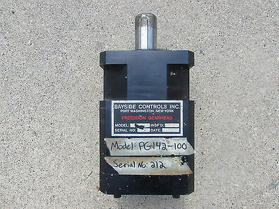 Bayside Precision Gearhead Pg142-100 1001 Gear Reducer