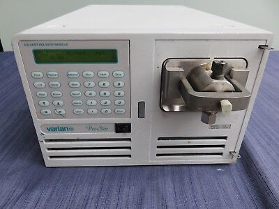 Varian Prostar 215 Hplc Solvent Delivery Module Pump Liquid Chromatography