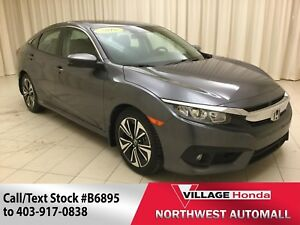2016 Honda Civic EX-T | B/U Cam | Sunroof | Apple CarPlay |