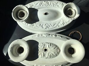 Vintage wall/ceiling sconces