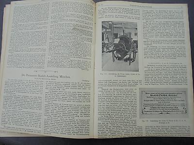 1901 Sdt. Bauzeitung 39 / Berchtesgaden / Unfinden Franken (2) / München