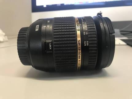 Tamron SP 17-50mm F/2.8 Lens