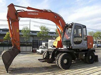 Hitachi EX125WD-5 Excavator / Digger Workshop Manual