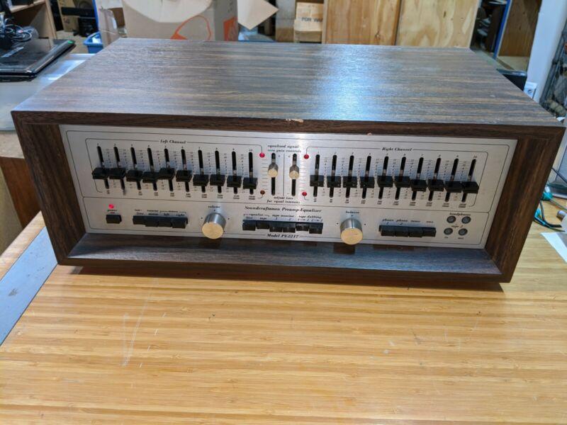 Vintage Soundcraftsmen PE2217 Preamp Equalizer