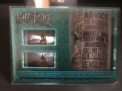 HARRY POTTER AND THE DEATHLY HALLOWS PART ONE FILM CARD CFC3