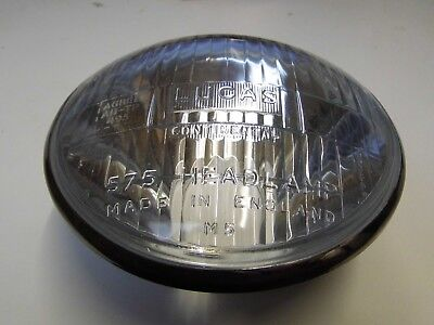 TRIUMPH TIGER CUB LUCAS CONTINENTAL 575 HEADLIGHT  5 12