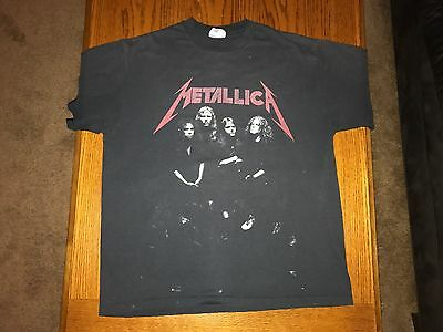 Metallica And Justice For All Vintage Concert Tour Shirt Size XL