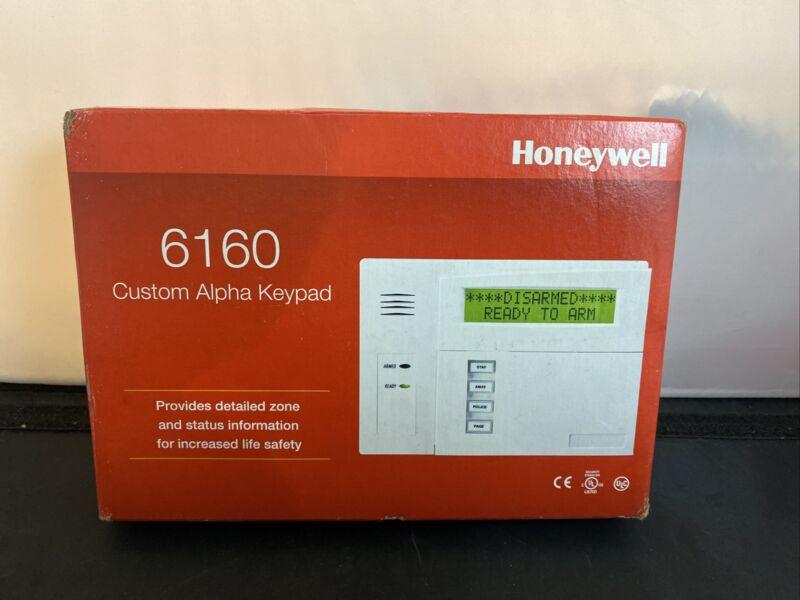 Honeywell Security 6160 Custom Alpha Display Keypad New With Box