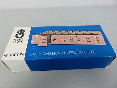 Vicon Industries Video Camera Controller Control Panel V154t M  P8