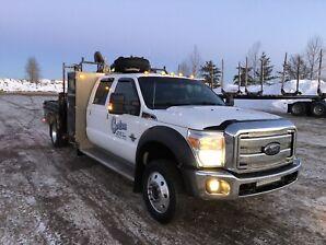 2015 f550 picker truck