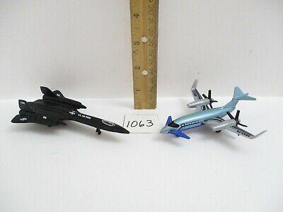 Jet Lot Diecast Airplanes Matchbox Pusher & Maisto SR 71 Blackbird Planes
