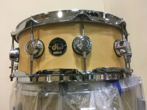 "EARLY DW 6.5X14"" ALL MAPLE COLLECTORS SNARE DRUM, KELLER SHELL,DOVETAIL JOINTS"