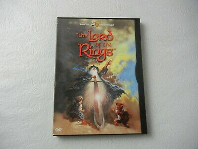 The Lord of the Rings Animated DVD