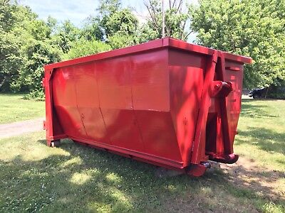 18 Yard Hook Lift Roll Off Container Dumpster 36 And 54 Inch Hook