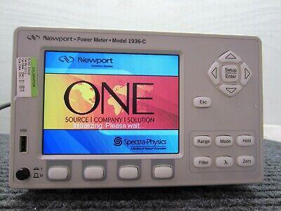 Newport Power Meter 1936-c Single Channel Digital Optical Meter Sn 14048
