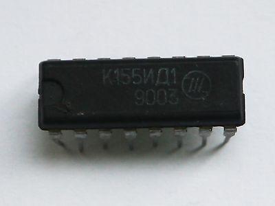 Lot of 6 K155ID1 Driver for Nixie Clock NEW SN74141J DM74141N MH74141