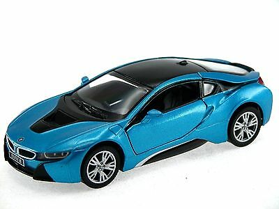 Kinsmart BMW i8 2 Door Coupe 1:36 Diecast Model Toy Car Pull