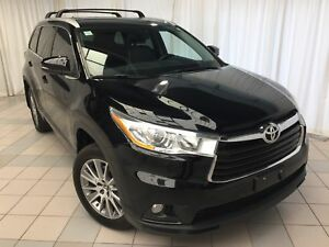 2016 Toyota Highlander XLE | Navigation, Power moonroof