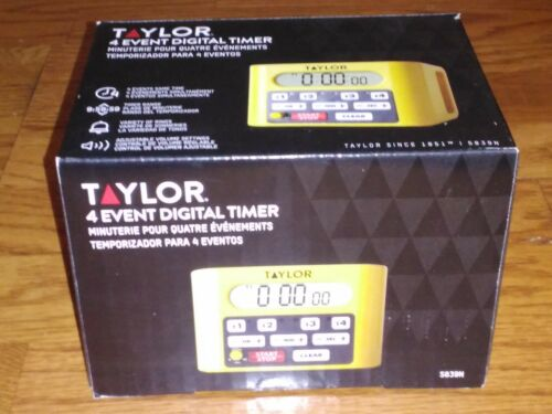 Taylor 5839N Digital 4-Channel Commercial Kitchen Countdown