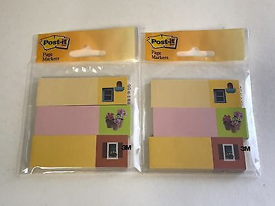 2 Lot Post-it Page Marker Flag, 1 in x 3 in, 3 Pads with 50 Flags Each](Post It Flags Bulk)
