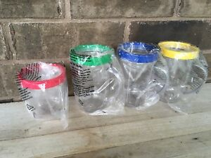 4 Magic Bullet Cups Mugs NEW