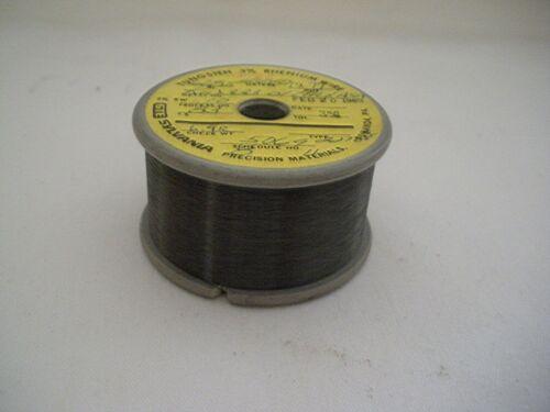 Tungsten 3% Rhenium wire