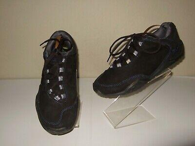 KURU Chicane Black Suede Hiking Trail Walking Shoes Sneakers Womens Sz.9 / 40